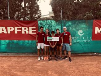 Resumen de la participación extremeña en el Campeonato de España Infantil de Tenis