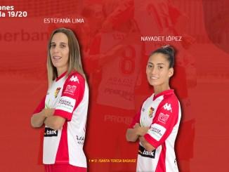 Estefa y Nayadet, renovadas para la próxima temporada
