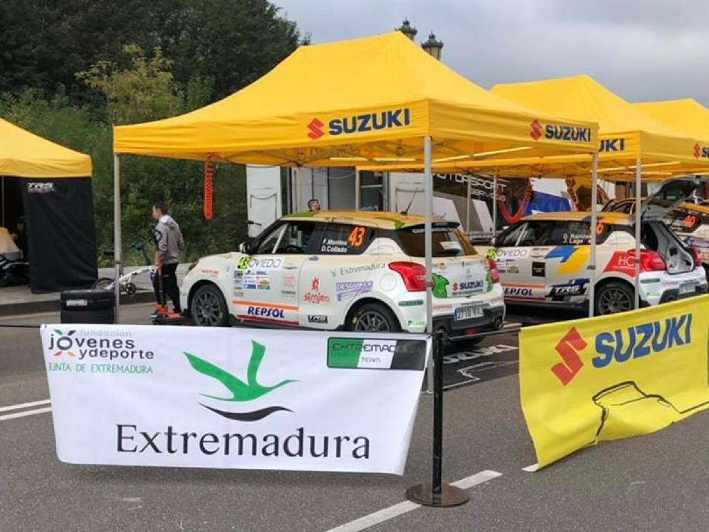 Sensaciones agridulces para el ERT en el Rally Princesa de Asturias