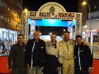 Noriego y Canelo prosiguen con su idilio en el Rallye de la Vendimia