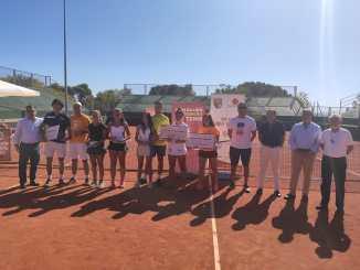 Sergio Davila y Lidia Gómez Campeones de Extremadura Absolutos