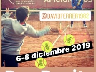Concesión a Don Benito de la organización del Máster del Circuito Aficionados 2019 y de la Fiesta Nacional del Tenis