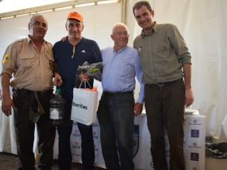 Antonio Vázquez y Daniel Pardo, campeones provinciales de Caza Menor con Perro
