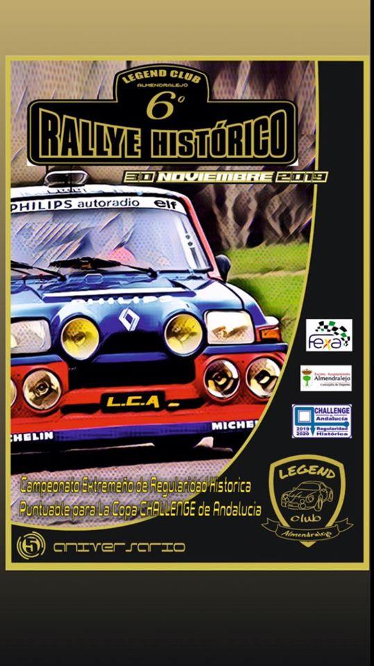 La regularidad cierra el telón en el Rallye Histórico de Almendralejo