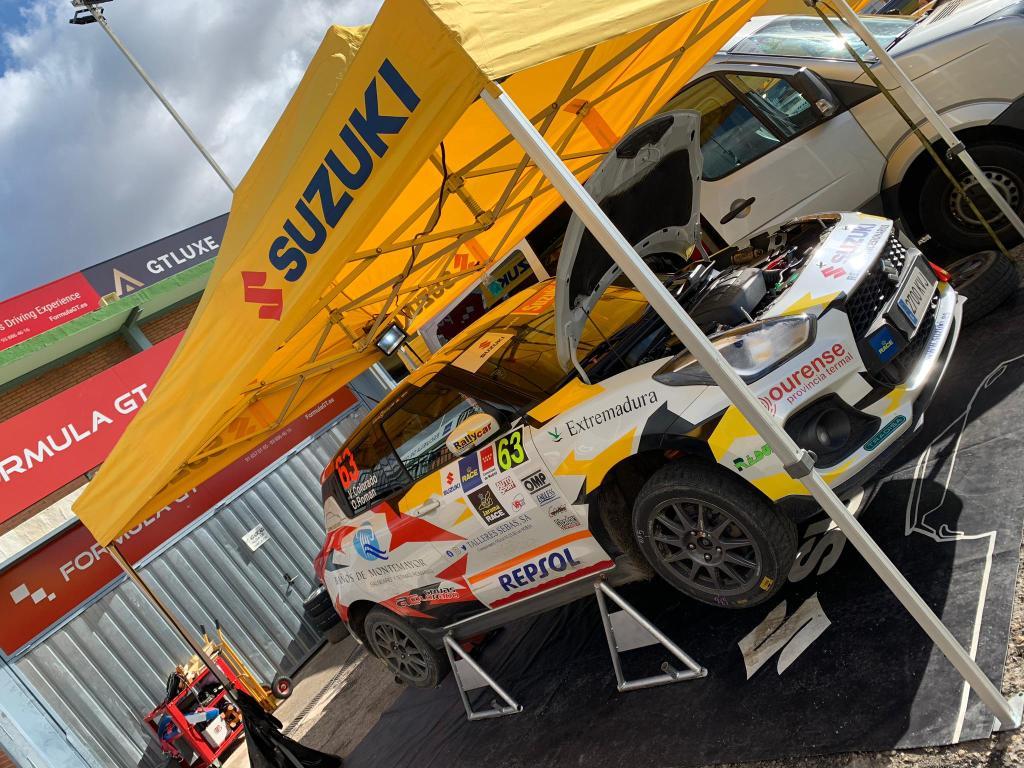 Undécima plaza para Colorado y Román en el Rallye Comunidad de Madrid