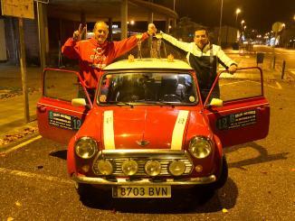 Victoria talaverana en el Rallye Histórico de Almendralejo