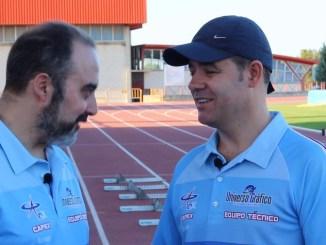 Jose Ángel Rama en Gerona con los mejores entrenadores del mundo de medio fondo y fondo