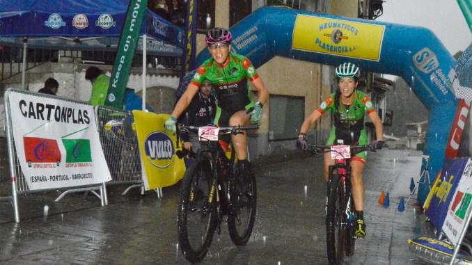 Tamara Sánchez se estrena en la Picota Bike Race by Neumáticos Plasencia con victoria junto a Desi Castro en la última cita del Extremadura-Ecopilas