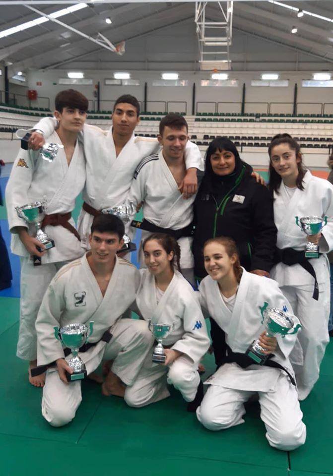 Excelente campeonato de los Judocas del C.N.T.D en el Campeonato de Extremadura Junior