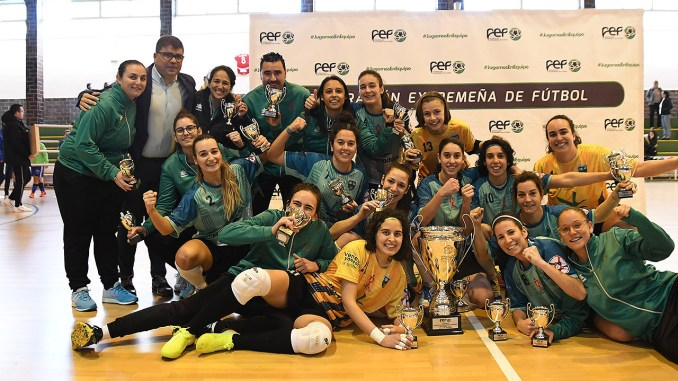 La Cruz Villanovense, campeón de la I Copa Futsal Femenina