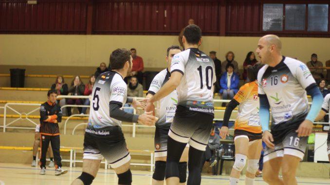 Vibrante fin de semana de voleibol en Badajoz