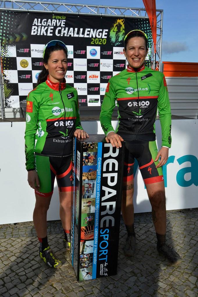 Desi Castro y Tamara Sánchez ya son terceras en Algarve Bike Challenge