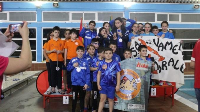 Club Salvamento Tiendas Pavo Don Benito campeón por equipos Infantil y Asbsoluto en el III Trofeo Nacional Calabazón de Salvamento y Socorrismo