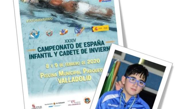 Excelentes resultados de Diego Otero Herrero en el Cto. de España Infantil y Cadete de Invierno