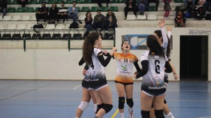 Doble triunfo del Extremadura CPV en un magnífico sábado
