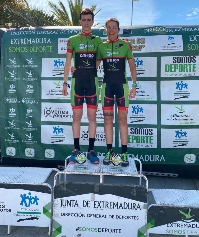 Doblete para las chicas del Extremadura-Ecopilas en Las Hurdes y Quintana de la Serena