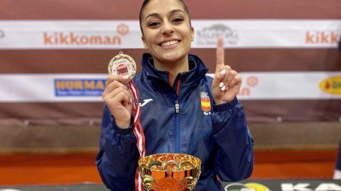 Otra medalla de oro para Marta García en la Premier League de Salzburgo