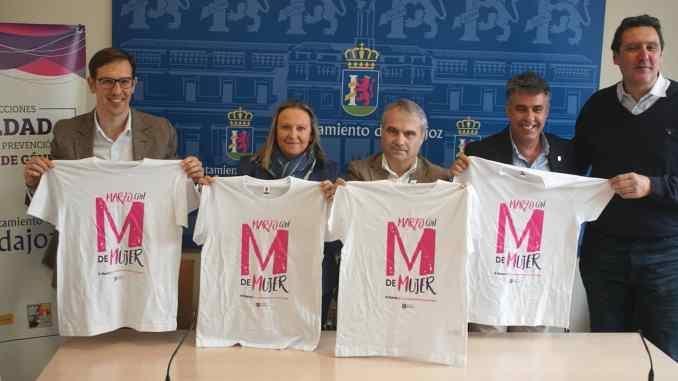 El Liberbank Santa Teresa Badajoz se suma a la campaña del Ayuntamiento de Badajoz 'Marzo con M de Mujer'