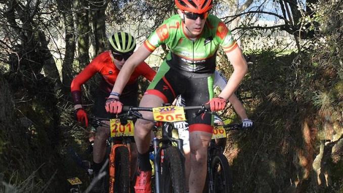 Entrevista a Francis Barquero, el ciclista más joven del Extremadura-Ecopilas MTB
