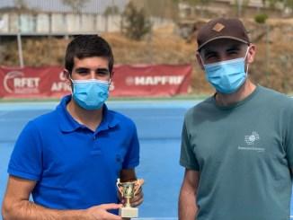 Participación del Club de Tenis Cauria en el Torneo del Circuito Aficionados de Tenis de la RFET celebrado en Plasencia