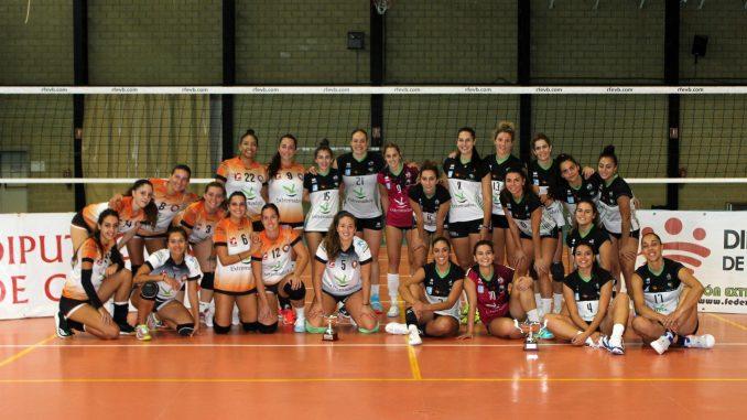 El Extremadura Arroyo se adjudica el Torneo Diputaciones tras derrotar 3-1 a Pacense Voleibol en el segundo partido