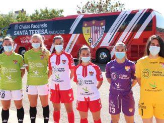 El Civitas Santa Teresa Badajoz echa a rodar luciendo naming, autobús y nueva camiseta