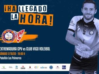 El Extremadura CPV inicia la competición con tres partidos de sus equipos senior