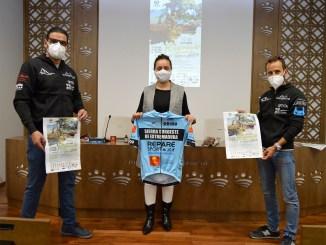 """La Diputación de Badajoz acoge la presentación del Reto Deportivo y Gastronómico """"Conociendo y saboreando la Sierra Suroeste de Extremadura"""""""