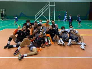 Tercera victoria consecutiva para el CD Badajoz Extremadura de Superliga Masculina 2