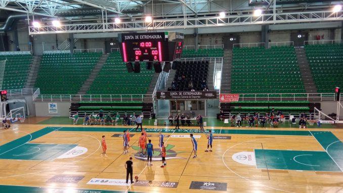 Salto inicial partido Sagrado Corazón Lithium Iberia vs Real Betis