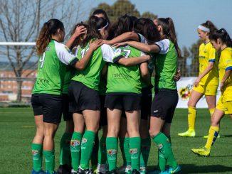 Acción del partido CF Femenino Cáceres