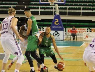Jeff Xavier (Cabo Verde), en el partido contra Valladolid