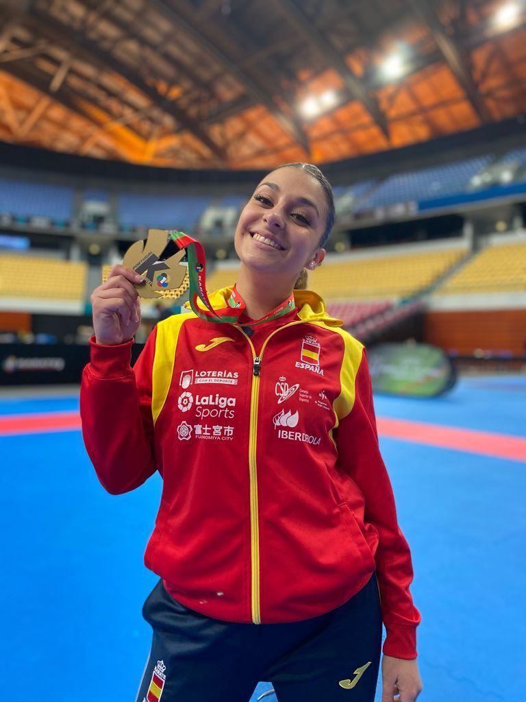 Marta García se cuelga el oro por equipos en Portugal