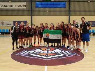 Equipo participante en Campeonato de España Infantil