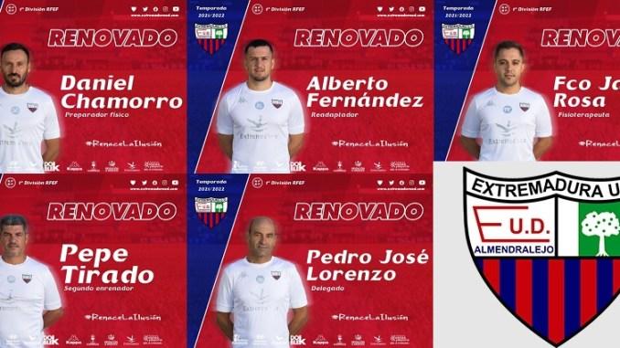 Equipo Técnico UD Extremadura