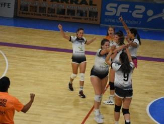 Inmejorable debut del Badajoz Extremadura CPV en Superliga Femenina 2