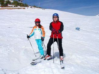como esquiar