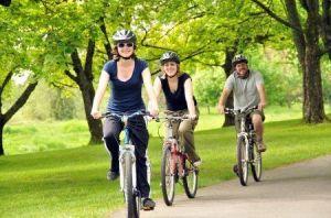 usar bicicleta