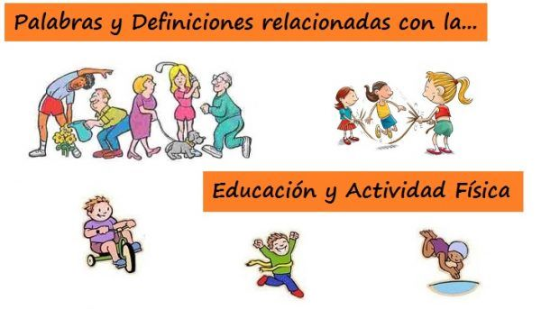 Glosario: TÉRMINOS relacionados con EDUCACIÓN y ACTIVIDAD FÍSICA