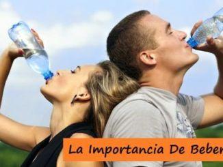 Beber Agua haciendo Deporte