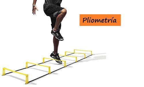 Material para realizar ejercicios de pliometría