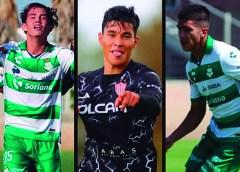 """""""Corre"""", Tejeda y """"Tachi"""": titulares indiscutibles en Santos y Necaxa Sub 20 y 18"""