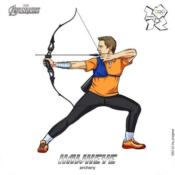 Olympic-Avengers-Hawkeye