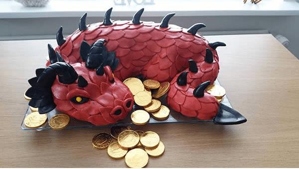 Smaug e sua moedas