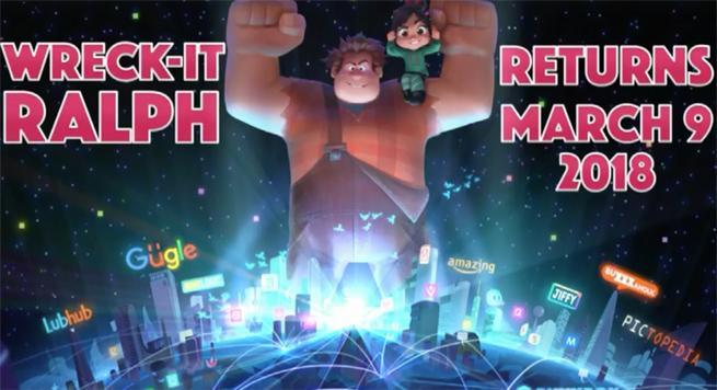 ANIMAÇÃO | Disney anuncia continuação de Detona Ralph!