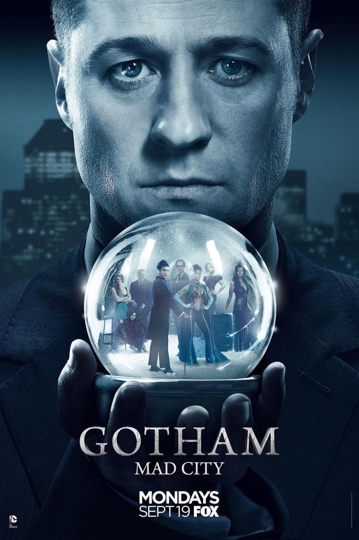SÉRIE | Divulgada um novo pôster da terceira temporada de Gotham!