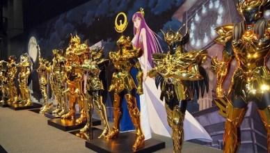 Confirmada as 12 Armaduras de Ouro dos Cavaleiros do Zodíaco na CCXP 2016!