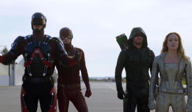 Divulgado mais um teaser do Mega Crossover do universo televisivo da DC Comics!