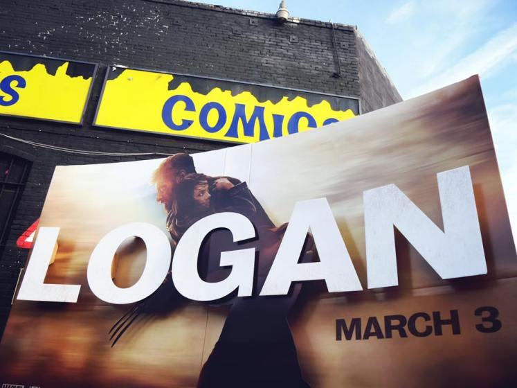 Hugh Jackman divulga novo banner promocional de Logan!