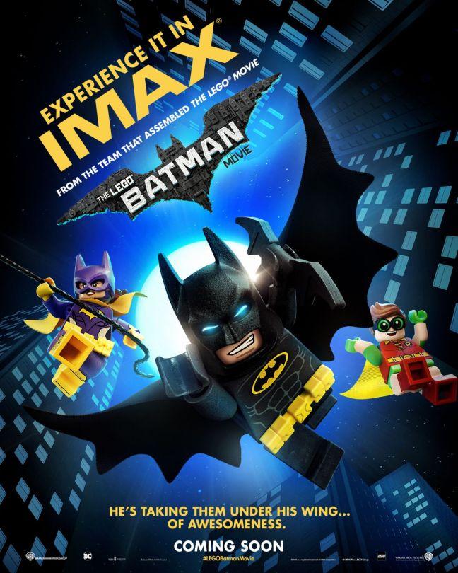 Divulgado novos pôsteres de LEGO Batman: O Filme
